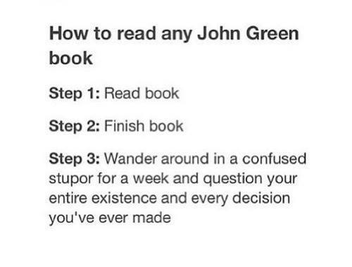 how to read john green